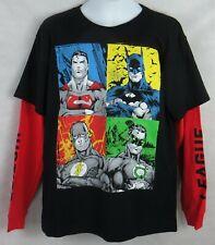NWT Superman Batman Avengers Black Panther Flash Performance T-Shirt Dri Fit