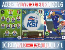 Panini Iceland Football Trading Cards Euro 2016 Event