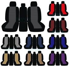 11-20 Ford F-150/F-250/F-350 40-20-40 2-Tone Truck Seat Covers +Console F-Series