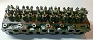 68-72 Triumph TR250 TR6 Complete Cylinder Head 516323-Bolt On And Go-Very NiceMV