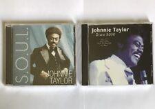 Johnnie Taylor  - S.O.U.L. & Disco 9000 [2 New CDS] NR