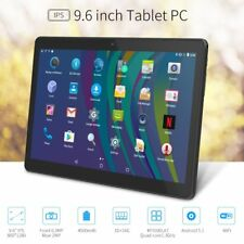 """Large Screen Tablet 9.6"""" 2G 3G Dual SIM Card Slot Unlocked Cell Phone Phablet"""
