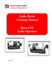 More details for haas lathe series cnc lathe operator training manual reprinted comb bound