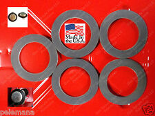 5 New Jerrycan CAP GASKETS Metal Gerry G Can 5 Gallon 20L Rubber Fuel Gas USMC