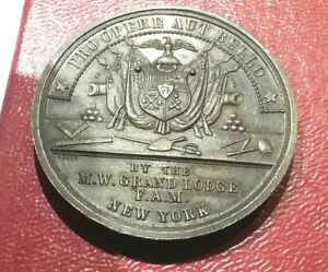 (pgasteelers1)New York State National Guard 1877 Croner Stone Layed Lovett Medal