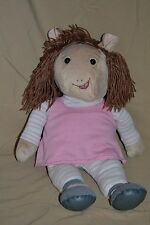 "19"" Arthur 'DW' Plush Doll Little Sister Stuffed Animals Toys Show D W Arther"