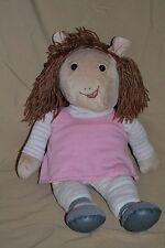 "19"" Arthur 'DW' Plush Doll Little Sister Stuffed Animals Toys Show D W Arther"