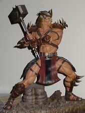 Pop Culture Shock Mortal Kombat Statue Shao Kahn MK9 2011 Ultimate 3 MKX *RARE*