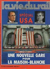 la vie du rail N°2168 special USA une nouvelle gare pour la maison blanche  1988