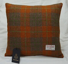 Authentic Harris Tweed Fabric Cushion Cover 18in. x 18in 100% wool ref. cc238/18