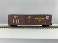 Z Scale Micro Trains 50' Rib Side Box Car Fmc Plug Door Pennsylvania Rr
