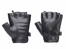 Harley Davidson Willie G Hanger Leather Fingerless Motorcycle Gloves XL X-Large