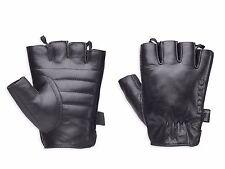 Harley Davidson Willie G Hanger Leather Fingerless Motorcycle Gloves Sz M Medium