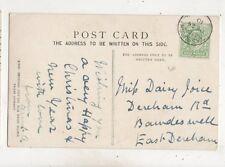 Tasburgh Single Ring Postmark 24 Dec 1910 654b
