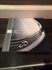 2004 Infiniti Full Model Line  Dealer Sales Brochure
