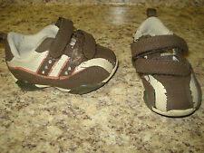 THE CHILDREN'S PLACE GIRLS ATHLETIC SHOES SIZE 4 PINK BROWN