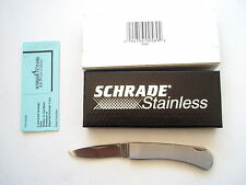 Stainless Steel Handle Plain Collectable Folding Knives