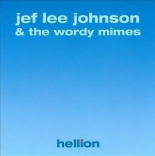 Jef Lee Johnson And The Wordy Mimes Hellion CD 2003 Dreambox Rock Soul Guitar