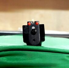 SO NICE! CROSMAN Rear Sight With RED Fiber Optic on BOTH SIDES for 2240 1322 etc
