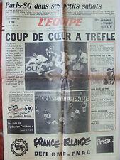 L'Equipe du 3/2/1986 - Rugby : France bat Irlande - Bez censure .. - Ski :Bouvet