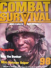 COMBAT AND SURVIVAL MAGAZINE ISSUE 98 - INTO THE BUNKER