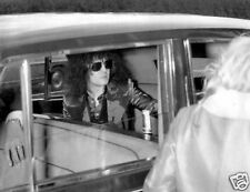 Marc Bolan T-Rex Great Candid Taxi 10x8 Photo