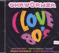 CD + Original Ohrwürmer + I Love 80´s + Tolles Album mit 18 Hits der Achtziger +