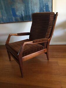 Mid Century Retro Vintage Armchair