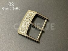 """Genuine Grand Seiko 16mm """"Small Letter"""" GS Buckle Clasp SBGW253"""