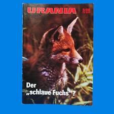Urania 3-1988 Fuchs Laserstrahl Finnland Schopenhauer Schach Potsdam Sojabohne