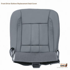 2006 Dodge Ram 1500 2500 3500 Laramie-Driver Side Bottom Leather Seat Cover Gray
