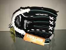"""New listing RAWLINGS 11 1/2"""" FASTPITCH SOFTBALL GLOVE Left Hand Throw Leather Palm WFP115MT"""