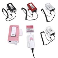 30000RPM Electric Nail File Acrylic Drill Rechargeable Manicure Tool Machine