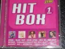 HITBOX (HIT BOX) 2004 Volume 1  Milk Inc., Lasgo, Aventura, Natalia, Zippora....