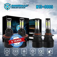 H13 9008 LED Headlight+9145 Fog Light Combo Pack for Ford F-150 2004-2014 4800W