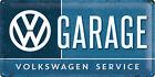 VW GARAGE VOLKSWAGEN SERVICE XL Blechschild 25x50 cm BULLI T1 T2 T3 T4 BUS SIGN