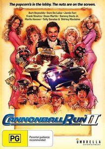 Cannonball Run 2 II DVD Burt Reynolds New and Sealed Australia