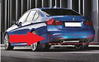 BMW NEW GENUINE 3 SERIES F30 F31 335i M SPORT REAR DIFFUSER WITH DOUBLE EXHAUST