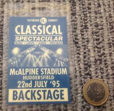 Backstage Classical Rock 22nd July 1995, RARE! EXCELLENT!