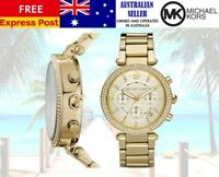 Michael Kors Parker womens Gold Tone Watch MK5354