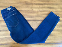 Paige Jeans Size 28 Verdugo Crop Light Wash Stretch 5 Pockets Ankle Skinny
