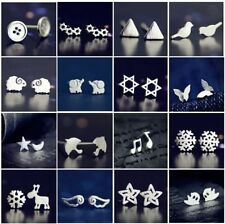 Wholesale New Fashion Women 925 Silver Earrings Ear stud Cute Jewelry Gift