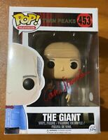 Carel Struycken Signed Twin Peaks The Giant 453 Funko Pop - JSA NN81740