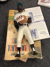 1958-1962 Hartland Plastics Baseball Statue Willie Mays with Original Box