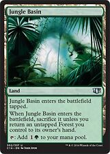 Jungle Basin  NM    x4  Commander 2014  MTG  Magic Card  Land  Uncommon