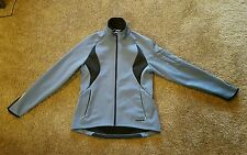 Blue SUGOI Women's Waterproof Lightweight Cycling Jacket Long Tail size L