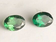 1.34 CT NATURAL! PAIR GREEN NIGERIA TOURMALINE OVAL