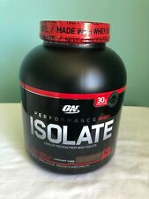 Optimum Nutrition Performance Whey Isolate Protein Chocolate Shake New Sealed