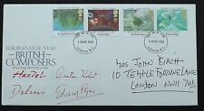 1985 European Music Year British Composers First day Cover