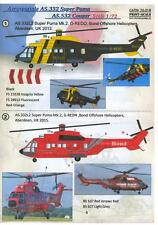 Print Scale Decals 1/72 AEROSPATIALE AS.332 SUPER PUMA & AS.532 COUGAR